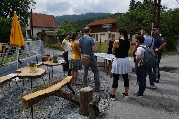 Workshop Öffentlicher Raum: Waldertgasse