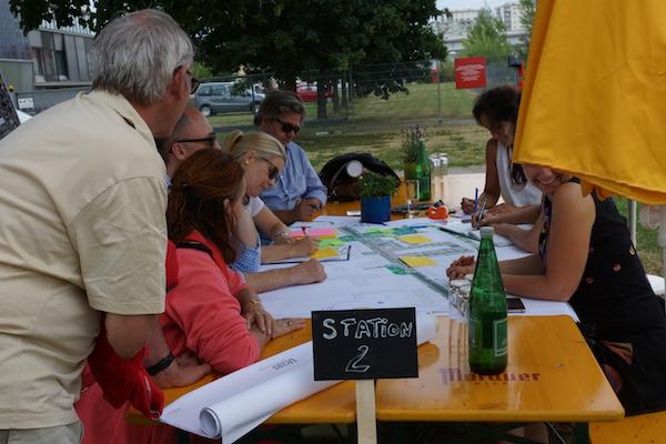 Workshop Öffentlicher Raum: Baufeld Süd